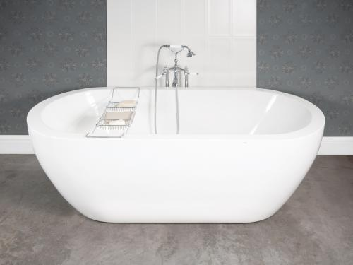 Easy in use high quality acrylic bathtub Opera 1850x850 mm with accessories