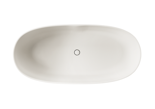 PAA Silkstone freestanding bath BELLA 1705 x 800 mm (top view)