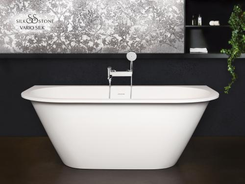 PAA Silkstone bathtub Deco Shape with rounded corner A & C