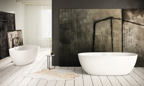 PAA Silkstone freestanding bath BELLA 1705 x 800 mm romance and elegance in every way