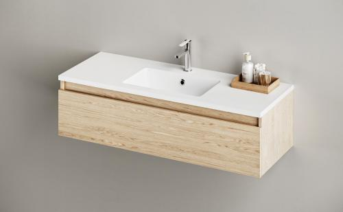 PAA Silkstone washbasin OPUS 1200x450x25 with furniture product example