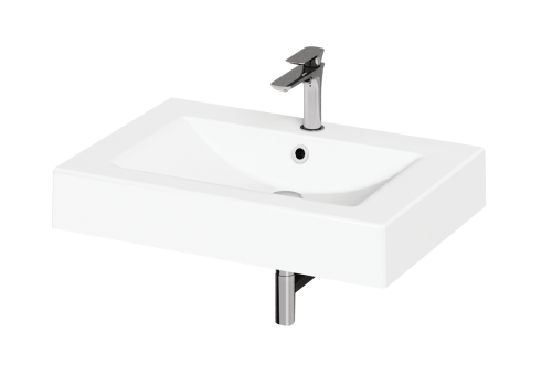 Cast Stone washbasin Long Step 700