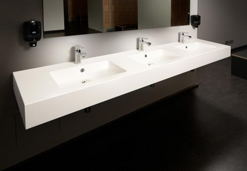 PAA Made to Measure washbasin OPUS with 3 bowls