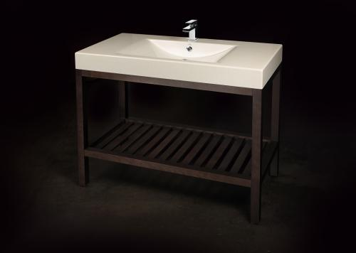 Cast Stone Washbasin Long Step 1000