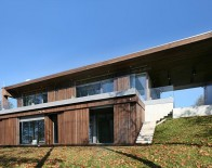 Holiday house exterior near lake Aluksne - AB3D architecture