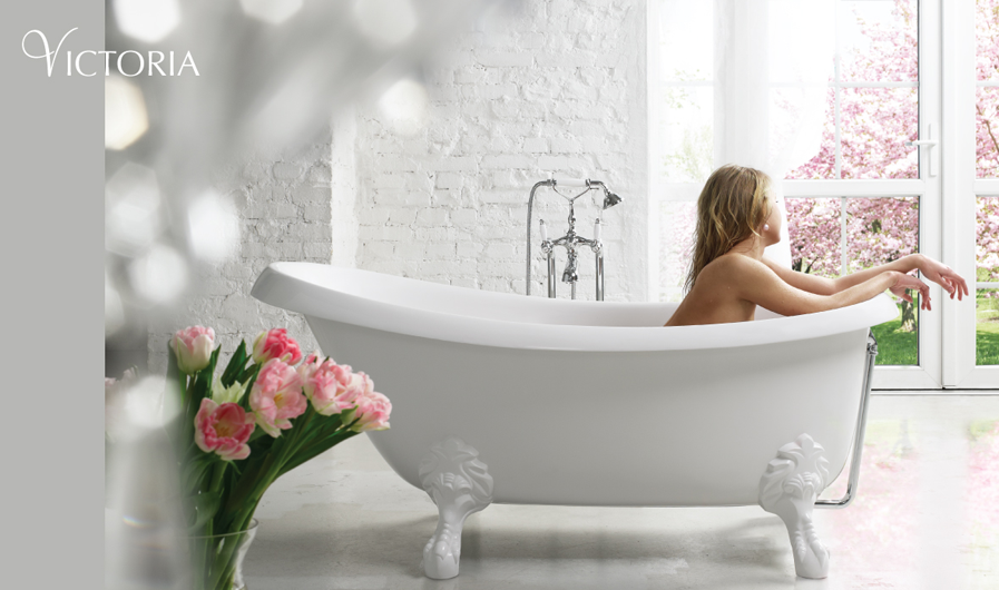 PAA cast stone bathtub Victoria interior picture